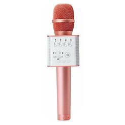 Безпровідний мікрофон караоке Q9 бронзовий