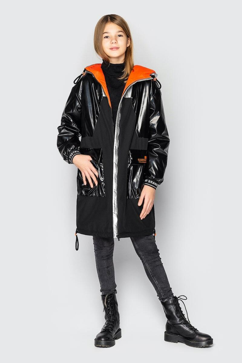 Дитяча куртка демісезонна для дівчинки Наомі на зріст 128 по 158