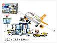 Конструктор SLUBAN M38-B0367 Авіація, літак, аеропорт, 678 деталей, фігурки Т, фото 9