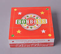 "Коробка деревянная ""BONBONS"" FF057"