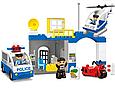 Конструктор для детей JDLT 5133 'Полицейский участок' 45 крупных деталей, фото 2