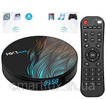 Приставка Smart TV Android box HK1 max (4+32 Android )