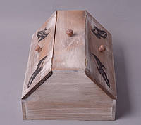 Коробка деревянная для обуви  FF034