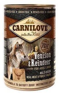 Carnilove (Карнилав) Консервы для собак Северный олень 400 гр