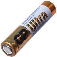 Батарейка GP ULTRA ALKALINE, 24AUEBCHM-2S2 лужна, LR03, AAA