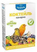 Корм для канареек и экзотических птиц Коктейль Канарейка Природа 0,5 кг