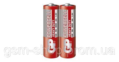 Батарейка GP POWERCELL 1.5 V сольова, 15EREB-2S2 R6, AA