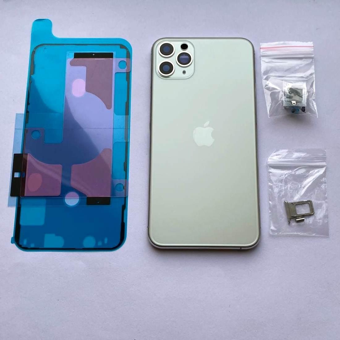 Корпус Novacel для Apple iPhone 11 Pro MAX Silver