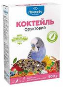 Коктейль корма для волнистых попугаев Природа Фруктовый 0,5 кг