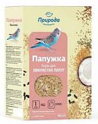 Корм для волнистых попугае Природа Папужка йод + кокос 575 гр