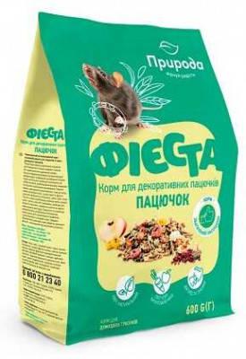 Корм для декоративных крыс и других грызунов Фиеста Пацючок 650 гр, фото 2