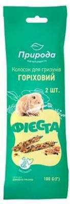Лакомство Фиеста колосок для грызунов Ореховый, 100 гр, фото 2