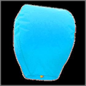 Небесний ліхтарик купол, висота ліхтарика: 85 см., колір: блакитний