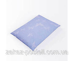 Наперник без канта тик 53 синий 40х40 (р) 100%