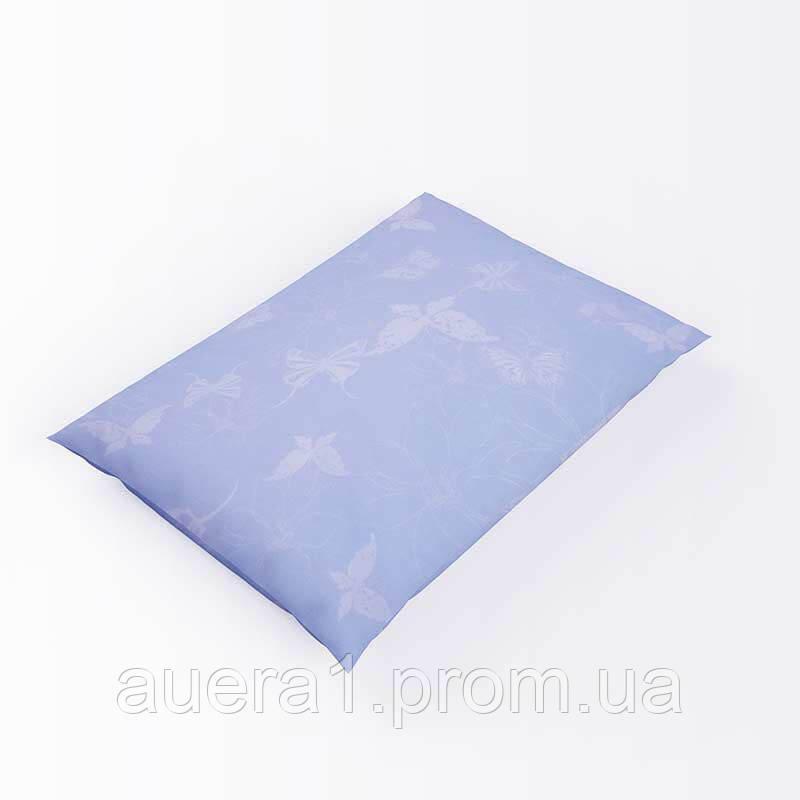 Наперник с кантом тик 52 голубой 40х40 (р) 100% молния