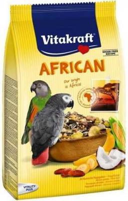 Корм для африканских попугаев Жако Vitakraft AFRICA 750 гр