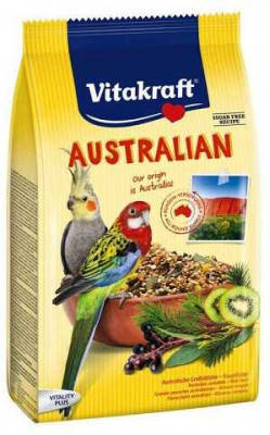 Корм для австралийских попугаев Vitakraft AUSTRALIAN 750 гр, фото 2