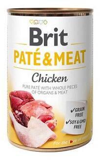 Brit (Брит Кеа) Paté & Meat Chicken Паштет для собак с курицей, фото 2