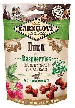 Carnilove (Карнилав)Crunchy Snack Лакомства Карнилав для кошек Утка с малиной, фото 2