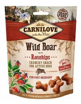 Carnilove Crunchy Snack Лакомства для собак Кабан с шиповником