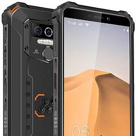 Смартфон OUKITEL WP5 pro Orange 4/64gb IP68 8000мАч камера 13\5\2Мп нові в наявності