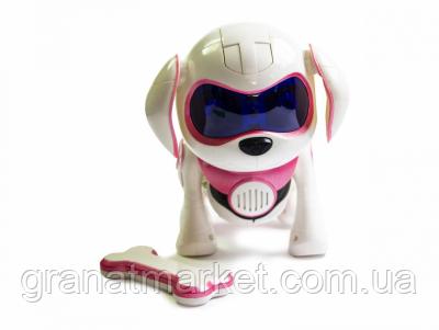 Интерактивная собака - Rock Robot Dog розовая