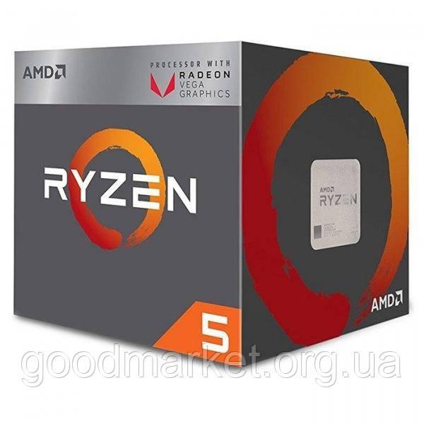 Процесор AMD Ryzen 5 2400G (YD2400C5FBBOX) в наявності
