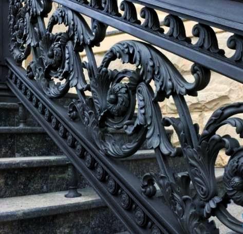 Художественное, эксклюзивное литье черных металлов