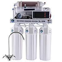 Система обр. осмоса Bio+ systems (мембр. Filmtec пр-во США), насос, мин-р, бл.управ RO-75-SL02M