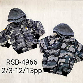 Куртки на для мальчиков оптом, Nature, 2-12 лет, арт.  RSB-4966