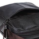 Мужская кожаная сумка Borsa Leather k11169-brown, фото 4