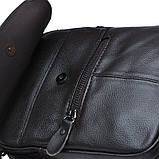 Мужская кожаная сумка Borsa Leather k11169-brown, фото 5