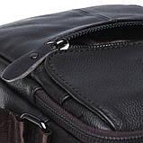 Мужская кожаная сумка Borsa Leather k11169-brown, фото 6
