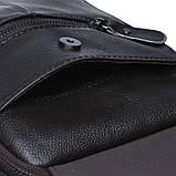 Мужская кожаная сумка Borsa Leather k11169-brown, фото 7