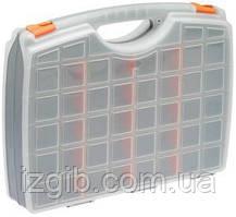 Скринька для інструментів, двосторонній STELS 425х330х85мм, пластик