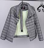 Куртка женская весна осень размер 44. Куртки  X-Woyz LS-8828, фото 7