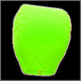 Небесний ліхтарик купол, висота фонарика: 85 см., колір: салатовий