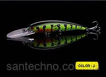 Воблер Walk Fish Hot Diver 115 (3-4м)