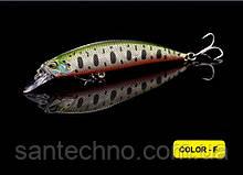 Воблер Walk Fish Minnow 105 3D