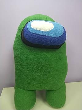 Мягкая игрушка Амонг Ас разные цвета эмон гас  желтый зеленый оранжевый фиолетовый синий серый