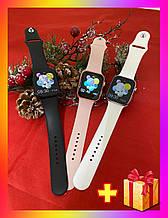 Смарт годинник Фітнес браслет трэккер X7 c IPS сенсорним екраном .Браслет здоров'я пульсометр тонометр + Подарунок