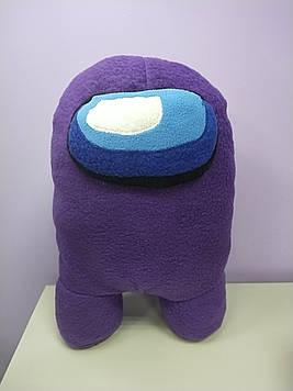 Мягкая игрушка Амонг Ас разные цвета эмон гас  желтый зеленый оранжевый фиолетовый синий розовый серый