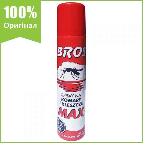"""""""Спрей від комарів і кліщів MAX 90 мл від BROS (оригінал, Польща)"""