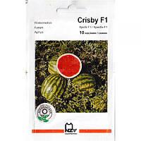 """Семена арбуза ультрараннего, для открытого грунта и пленки """"Крисби"""" F1 (10 семян) от Nunhems, Голландия"""