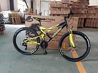 Горный двухподвесный велосипед Azimut Scorpion 24 D