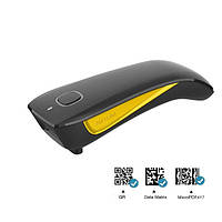 Сканер штрихкодов 2D мини ручной NETUM C750, универсальное подключение 3в1 2.4 ГГц, Bluetooth, USB