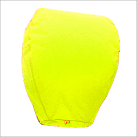 Небесные фонарики Купол Желтый 110 см