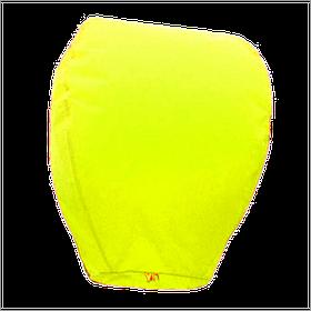 Небесные фонарики купол, высота фонарика: 85 см., цвет: желтый