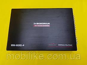 Качественный Усилитель звука Boschman BM-600.4BT