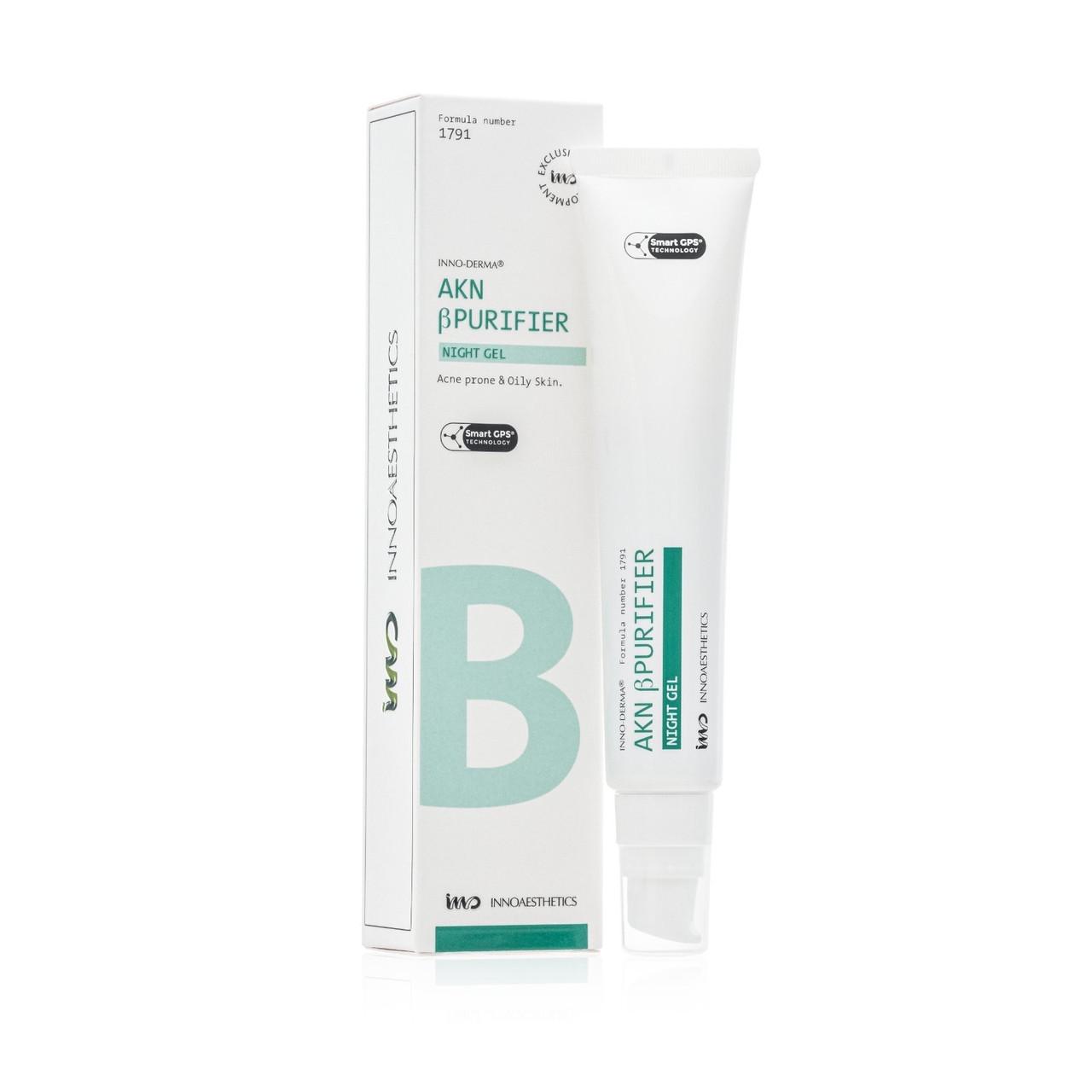 Активный крем для лечения проблемной кожи Innoaesthetics Inno-Derma AKN β-PURIFIER